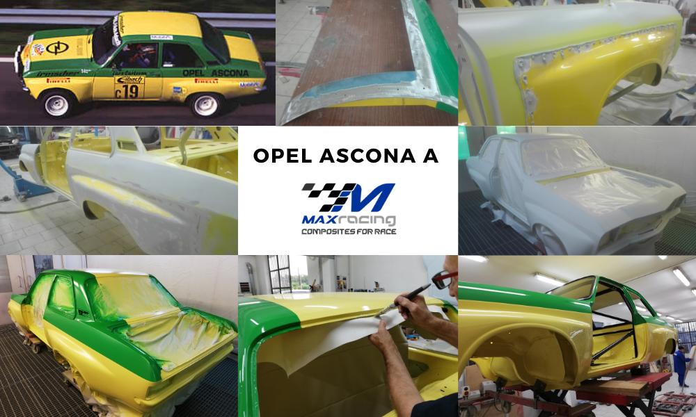 Restauro Opel Ascona A