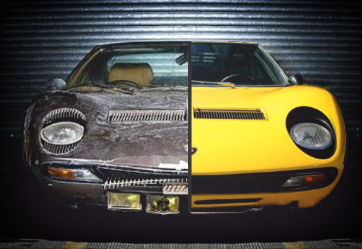 Restauro Auto Storiche Sportive
